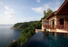 Wunderschöne Suite mit eigener Terrasse und Pool, in einem Fünf-Sterne-Rückzugsort in bester Hanglage in Phuket, inklusive Frühstück und einem Flughafentransfer