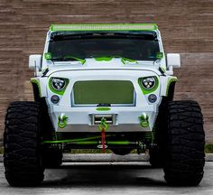 Jeeps bumper ideas inspiration for you Green Jeep Wrangler, Jeep Wrangler Unlimited, Jeep 4x4, Jeep Truck, Jeep Bumpers, White Jeep, Badass Jeep, Custom Jeep, Chrysler Jeep
