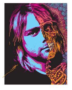 Zombie portrait.
