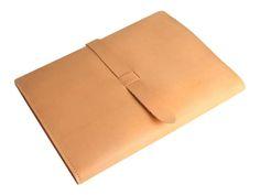 tri-fold leather ipad portfolio
