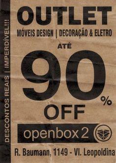 Compare antes de Comprar - Outlet de Móveis de Design na Zona Oeste de SP - OpenBox2 loja de Saldos da Oppa?