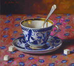 Randall Lake Art - Russian Teacup