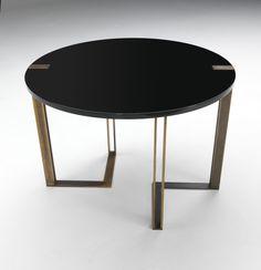 Title Tische, Runder Esstisch, Goldener Tisch, Tisch In Der Mitte,  Zeitgenössische Möbel