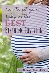 "Did you know that there is more to getting your baby in the best birthing position than just having your baby ""head down?"" Make sure that what you are doing today will end up giving you the best chance to having a successful birth!"