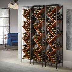 Wine Cellar Racks, Wine Rack Wall, Wood Wine Racks, Wine Wall, Wine Rack Design, Wine Cellar Design, Wine Cellar Modern, Modern Wine Rack, Contemporary Wine Racks