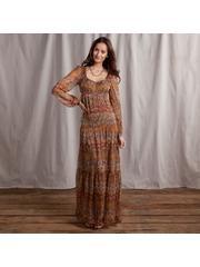 Sundance Peasant Maxi Dress