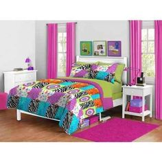 green and zebra bedrooms - Google Search