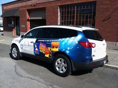 CDA Summer Theatre - Vehicle Wrap - Cassel Promotions