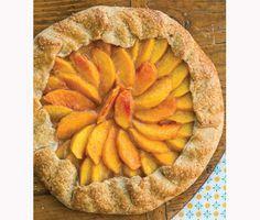 Peach Galette Recipe  at Epicurious.com