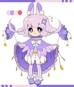 [Adoptable] 6 (AUCTION CLOSED) by Pikiru.deviantart.com on @deviantART