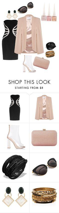 """#ازياء٪ #موضه #فاشن #فساتين #fashion #outfit #elegant #fancy"" by ladypeacful ❤ liked on Polyvore featuring Leka, Dune, Marni, Amrita Singh and Christian Louboutin"