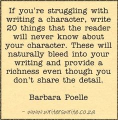 Quotable - Barbara Poelle - Writers Write Creative Blog
