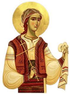 Sfânta Muceniță Filofteia de la Curtea de Argeș   Doxologia Friend Of God, Byzantine Icons, Romanesque, Princess Zelda, Disney Princess, Disney Characters, Fictional Characters, Saints, Female