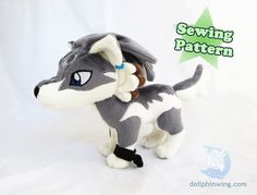 The Wolf Link tutorial and pattern pack is finally here! **PLEASE NOTE** This is an add-on to the Wolf Pattern found in my shop! It does not include the body shown, only pieces to make Wolf Link.  Once you sew up your wolf, make it into a Wolf Link from Zelda!  This pattern add-on includes:  - Template for the eye applique, dreadlocks, earring and chain bangle - Embroidery Files for the eyes and forehead design at varying sizes  - Embroidery comes as .pes, .saf and .jef formats - Seam…