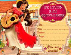 Birthday Party Invitations, Birthday Parties, Princess Elena Of Avalor, Wonder Woman Party, Kids Party Supplies, Ideas Para Fiestas, Disney Junior, Princess Birthday, Diy Party