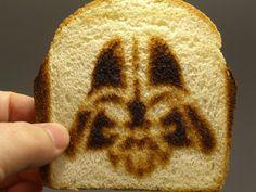 I like my toast more on the dark side of the bread... #NationalToastDay #StarWars #BIZBoost