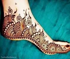 Best Mehandi Design for Legs, Best Colorful & Attractive Full Legs Mehandi Designs Pictures for women