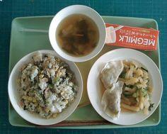 kyuushoku 給食 - japanese school lunch