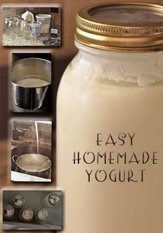 Chronicles of a Babywise Mom: Easy Homemade Yogurt, using one gallon of milk and 2 T store bought yogurt