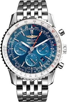 Breitling Navitimer 01 Blue Dial Men's Watch – Houffpauir Swiss Watches Men's Watches, Breitling Watches, Cool Watches, Breitling Navitimer, Rolex Submariner, Vintage Watches For Men, Luxury Watches For Men, Timberland Outfits Men, Best Perfume For Men