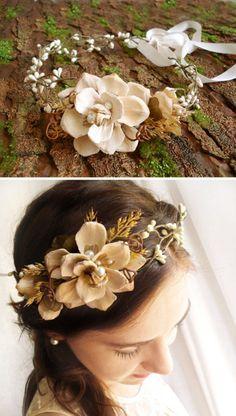 beautiful hair piece for a wedding...
