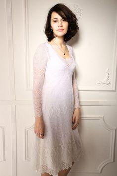 Ажурное платье из Haapsalu: ru_knitting - Page 2