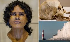 1,800-year-old face of 'Beachy Head Lady' revealed for the first time