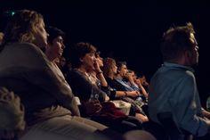 La platea intenta ad ascoltare la lezione di Haim Baharier sulla Genesi | Prologo: la Creazione | Teatro Eliseo, 14 ottobre 2015 | Ph. Gioia Maruccio