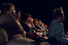 La platea intenta ad ascoltare la lezione di Haim Baharier sulla Genesi   Prologo: la Creazione   Teatro Eliseo, 14 ottobre 2015   Ph. Gioia Maruccio