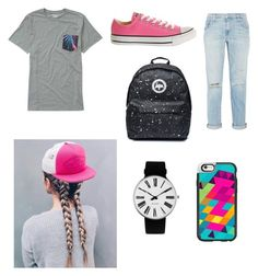 """""""Untitled #81"""" by rileyhh9 on Polyvore featuring Billabong, Converse, Current/Elliott, Casetify, Vans and Rosendahl"""