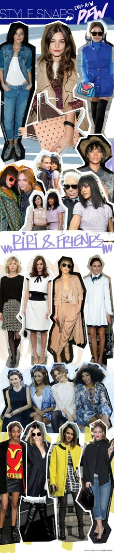 Paris Fashion Week style snaps! #F21Blog #PFW