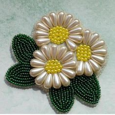 Awesome Most Popular Embroidery Patterns Ideas. Most Popular Embroidery Patterns Ideas. Bead Embroidery Patterns, Tambour Embroidery, Hand Embroidery Tutorial, Bead Embroidery Jewelry, Hand Embroidery Designs, Ribbon Embroidery, Embroidery Stitches, Beaded Flowers, Fabric Flowers