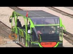 Hungarian train shines light on self-contained solar power - VIDEO - Prototype solar powered rail car in Hungary