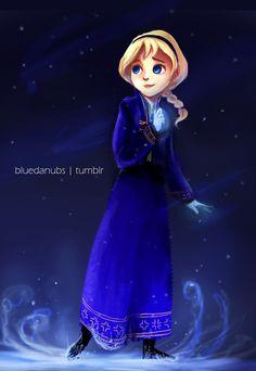 Teen Elsa by lalitterboxes.deviantart.com on @deviantART