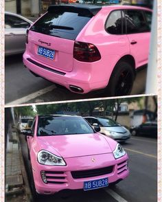 Pink Porsche Cayenne... just because the color of her nail polish is also pink this is normal this is common this is Cixi #China #Cixi #rest_in_china #rest_in_cixi #porsche_cayenne #pink #ilovepink #chinese_style #Ukraine #kherson #Ukrainian_girl #ucraniana #esencia_de_ucraniana by ucraniana_elena
