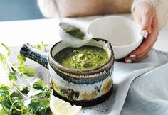 Jessica Sepel's green detox soup | Australian Natural Health Magazine