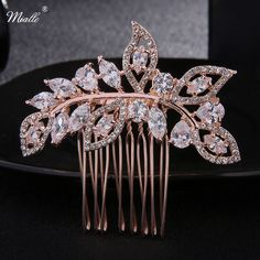 Gold Wedding Accessories Quality For Bride Directly From China Suppliers Miallo Newest Fashion Rose