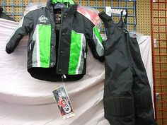 Other Snowmobiling 4847: Choko Nos Youth Green Size 5 Snowmobile Jacket And Bib Pants -> BUY IT NOW ONLY: $59.95 on eBay!
