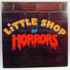 Little Shop of Horrors Movie Soundtrack OST Vinyl Record LP 1986 Geffen Film Frank Oz by vintagebaronrecords on Etsy