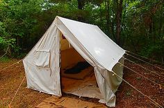Wall Tent Canvas 10x12x7