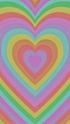 Hippie Wallpaper, Heart Wallpaper, Iphone Background Wallpaper, Retro Wallpaper Iphone, Unique Wallpaper, Iphone Wallpaper Tumblr Aesthetic, Cute Patterns Wallpaper, Photo Wall Collage, Pretty Wallpapers