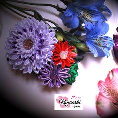 Arranjo de flores - Kanzashi Floral Wreath, Wreaths, Instagram Posts, Decor, Flower Arrangements, Kanzashi Flowers, Garlands, Dekoration, Flower Crowns
