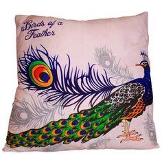 Art Cushion Cover - Strut Peacock
