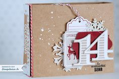 Stampin' Up! - December Daily - Dezembertagebuch -