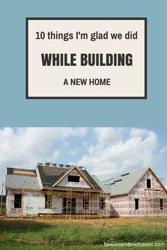 A list of things to consider when building a new home. Some great suggestions on this list! Home Building Tips, House Building, Building A House Checklist, Building Ideas, School Building, House Ideas, Tadelakt, Next At Home, House Floor Plans