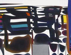 Moon shot (2005) Acrílico sobre tela - Rogelio Polesello (Argentina 1939-2014)