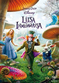 Alice in Wonderland - Johnny Depp, Mia Wasikowska, Anne Hathaway, Helena Bonham Carter, Tim Burton Mia Wasikowska, Walt Disney Pictures, Lewis Carroll, Anne Hathaway, Disney Movies, Disney Pixar, Disney Fun, Alice In Wonderland Watch, Wonderland Party
