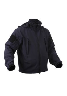 Blue Special Ops Soft Shell Midnite Jacket