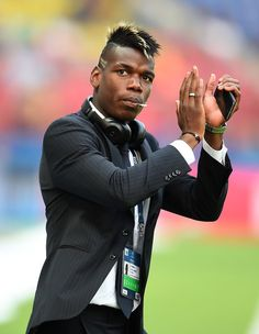 Paul Pogba of Juventus applauds the fans prior to the UEFA Champions League Final between Juventus and FC Barcelona at Olympiastadion on June 6, 2015 in Berlin, Germany.