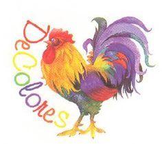 cursillo clip art | De Colores Rooster